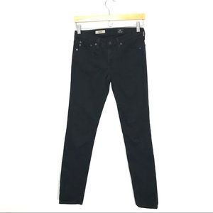 AG Jeans The Stilt Cigarette Black Skinny 26 A0